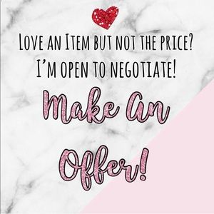 💋Always Open to Offers!!!